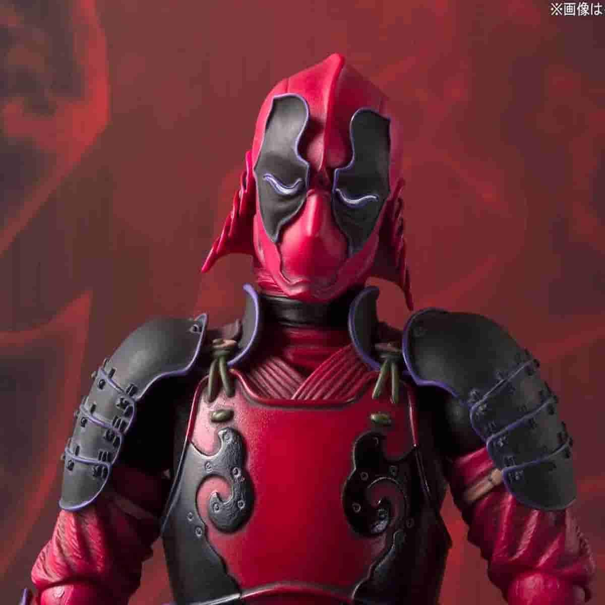 Kabukimono DeadPool Marvel Comics - Meisho Manga Realization Action Figure -Tamashii Nations by BANDAI - IamRetro.com