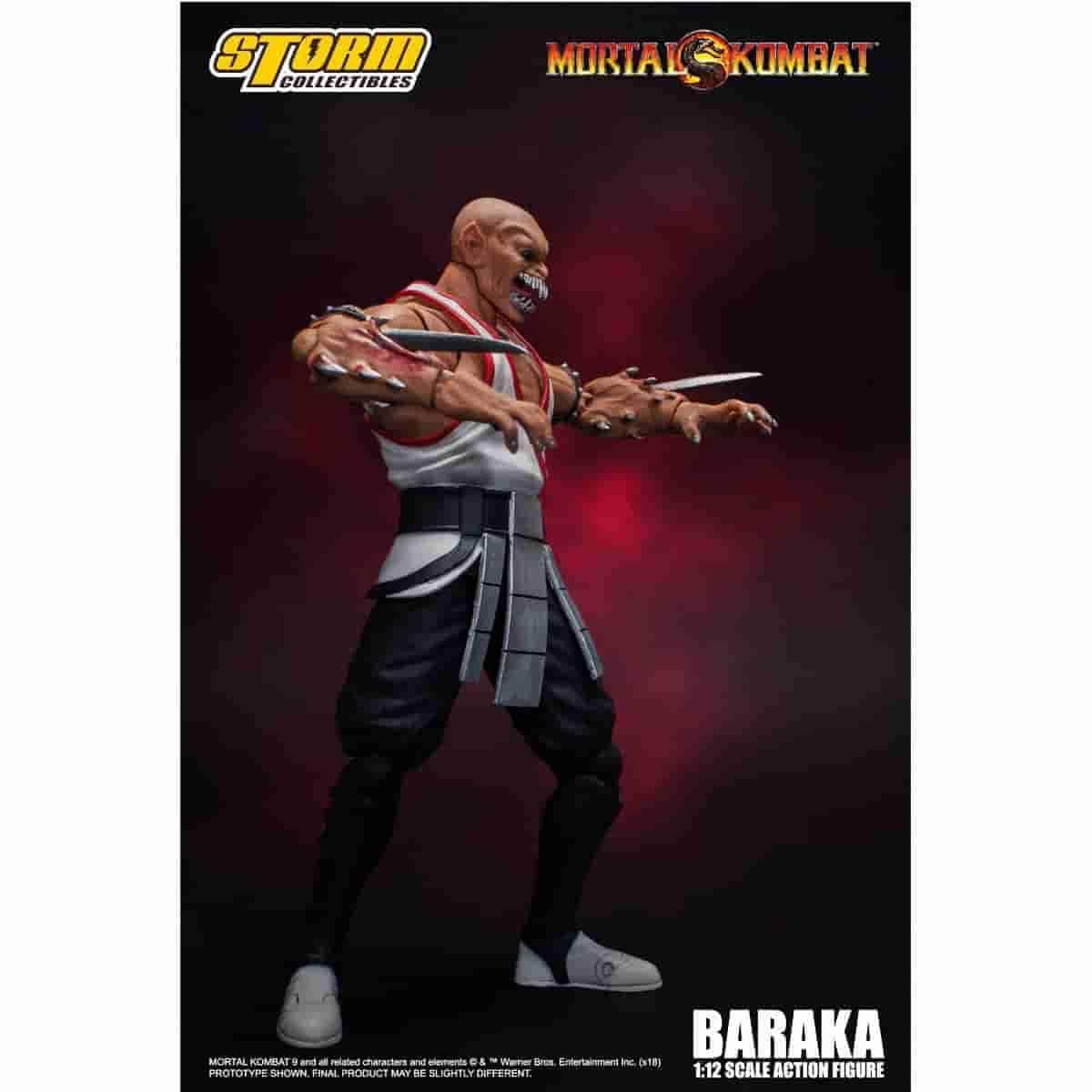 Baraka - Mortal Kombat 1:12 Scale Action Figure by Storm Collectibles **Pre-Order**
