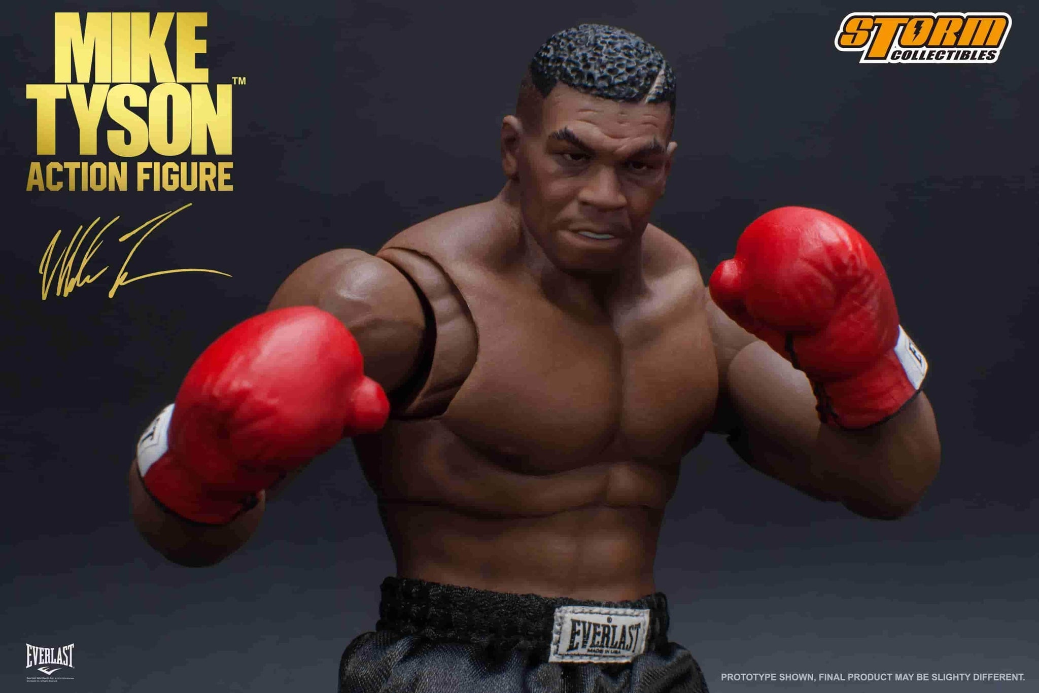 Mike Tyson 1/12 Scale Action Figure by Storm Collectibles **Pre-Order** - IamRetro.com