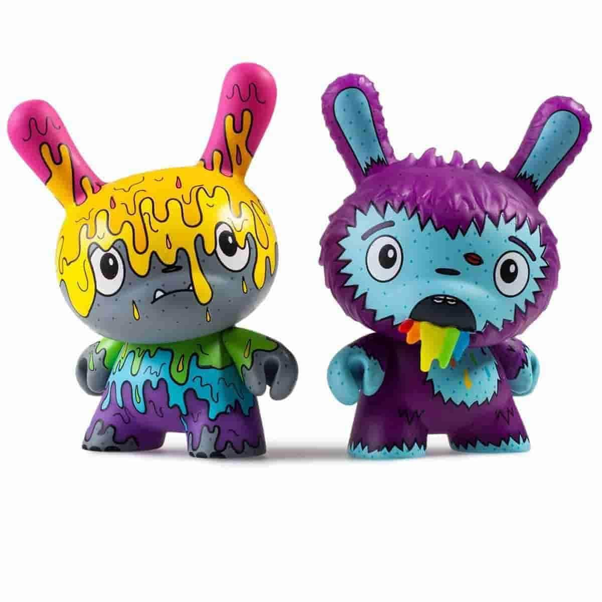 Designer Toy Awards Dunny Series 24 pc Display Case by Kidrobot x Clutter - IamRetro