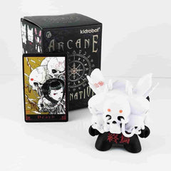 Death Black Arcane Divination Dunny Series by Kidrobot - IamRetro.com