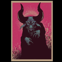 The Devil - Special Edition 8x11 Lithograph Print by Godmachine