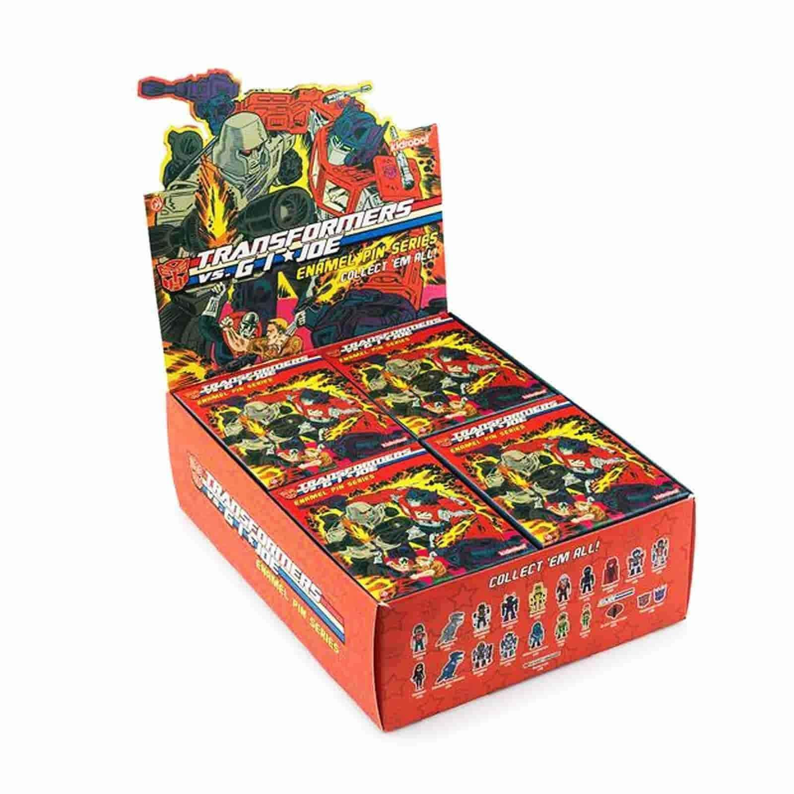 Transformers Vs. G.I. Joe Enamel Pin Series Blind Box - IamRetro.com