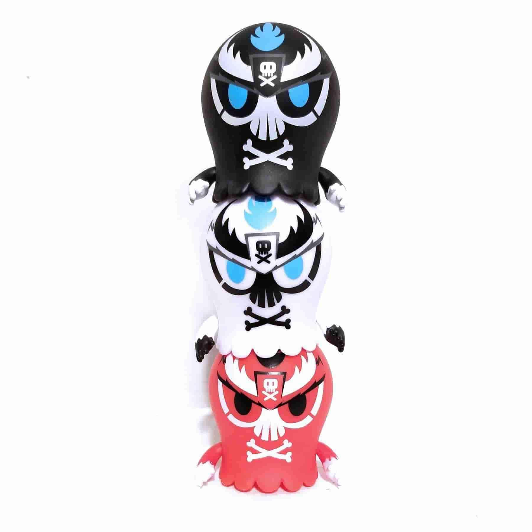 Emperor TEQ Bundle of All 3 (Red, White, Black) Jaspar by Quiccs x Martian Toys - IamRetro