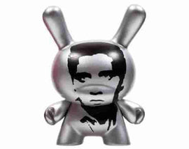 "Elvis 3"" Mini Figure - Andy Warhol Dunny Mini Series 2 by Kidrobot - IamRetro"