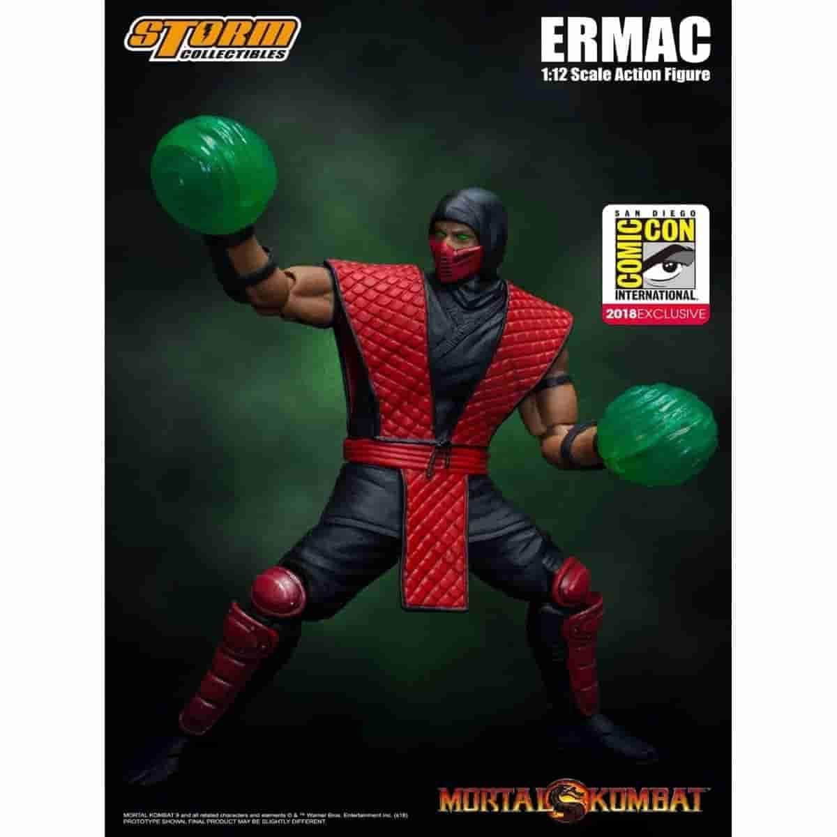 Ermac - Mortal Kombat 1:12 Scale Action Figure SDCC Exclusive Variant by Storm Collectibles