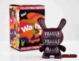 "Fragile 3"" Mini Figure - Andy Warhol Dunny Series 2 by Kidrobot - IamRetro"