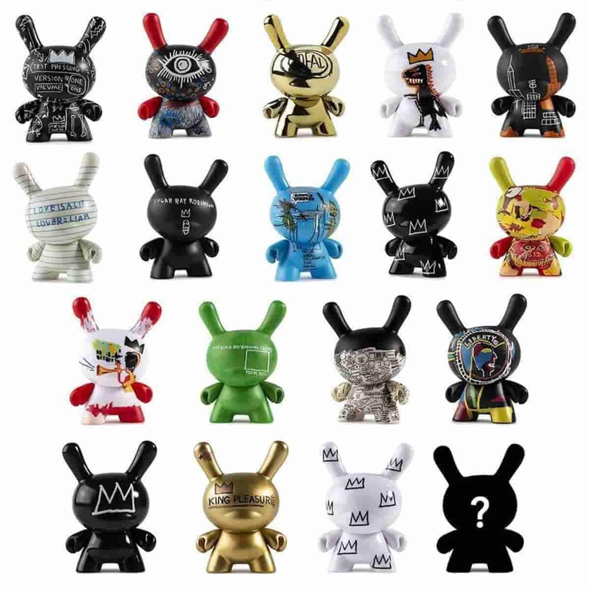 Jean-Michael Basquiat Dunny Series by Kidrobot - Full Case 24pcs - IamRetro.com