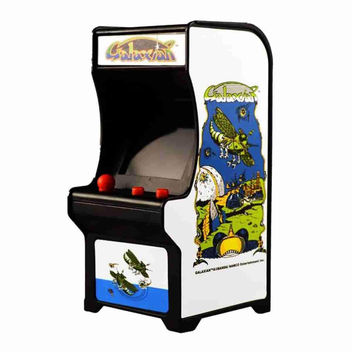Galaxian Mini Playable Tiny Arcade Machine by Super Impulse - iamRetro.com