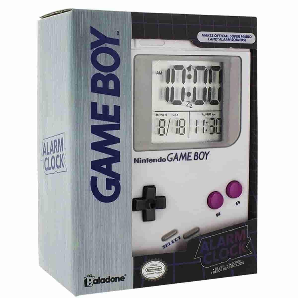 Game Boy Retro Alarm Clock - Official Licensed Nintendo - IamRetro