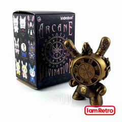 Gold Wheel of Fortune SDCC Exclusive - Arcane Divination Series 1 by J*RYU x Kidrobot - IamRetro