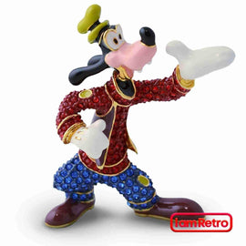 Goofy Small Jeweled Figure by Arribas Brothers x Swarovski x Disney - iamRetro.com