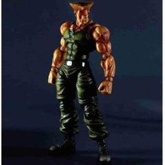 Guile Super Street Fighter IV by Square Enix - Play Arts Kai - iamRetro.com