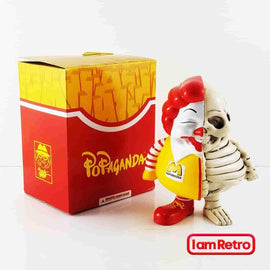 Half X-Ray MC Supersized 3-inch Mini FIgure - by Ron English Popaganda Mindstyle - IamRetro