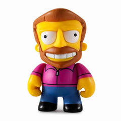 Hank Scorpio Simpsons 25th Anniversary Vinyl Mini Series by Kidrobot - iamRetro.com