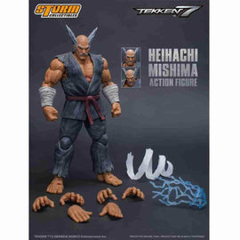 Heihachi Mishima Tekken 7 1:12 Action Figure by Storm Collectibles - iamRetro.com