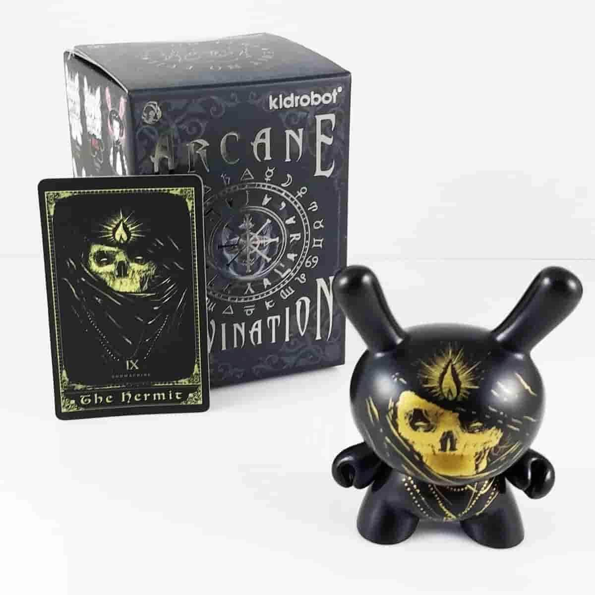 The Hermit Arcane Divination Dunny Series by Kidrobot - IamRetro.com