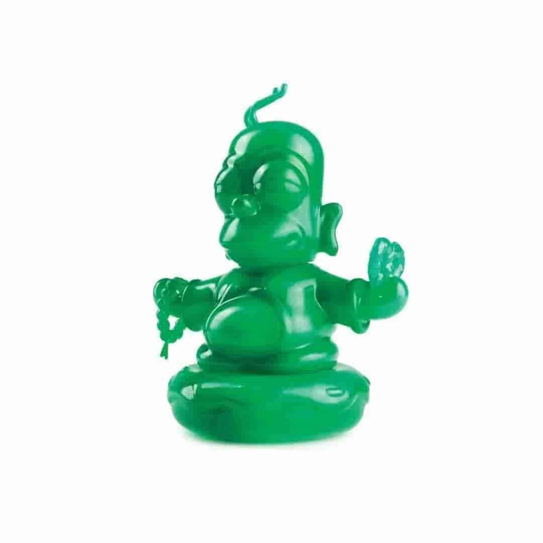 **BACKSTOCK FOUND** Jade Homer Buddha 3-inch Vinyl Figure by Kidrobot - The Simpsons x IamRetro - Exclusive Release SOLD OUT - iamRetro.com