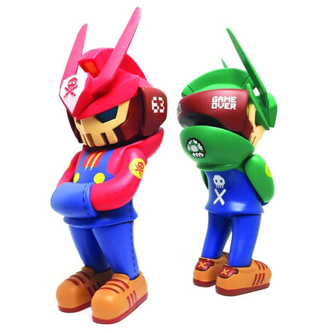 Super TEQ63 Bros Bundle Set by Quiccs x Martian Toys x IamRetro Exclusive Release!