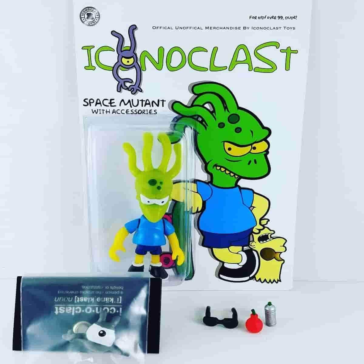 Space Mutant - Hand Casted/Painted Resin Figure Iconoclast Exclusive Release - IamRetro.com