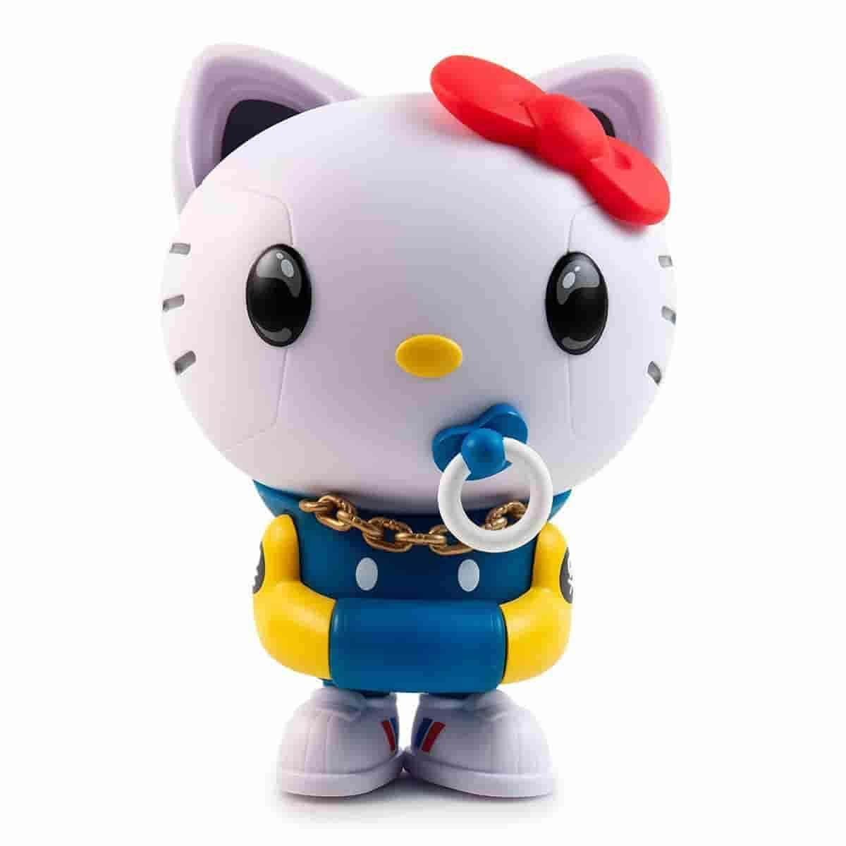Hello Kitty TEQ63 - Medium Vinyl Figure by Quiccs x Sanrio x Kidrobot - IamRetro