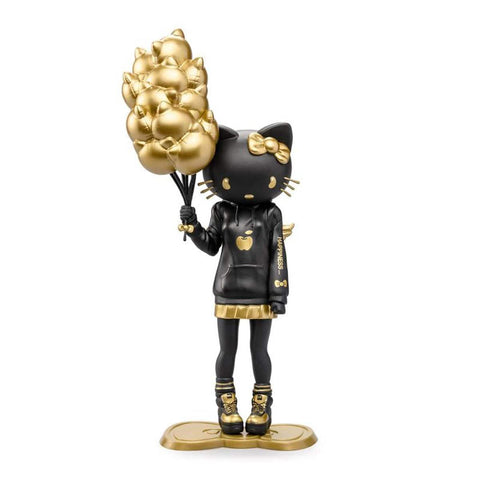 "Golden Gloom Nostalgia Hello Kitty 9"" Art Figure by Candie Bolton x Kidrobot Exclusive"