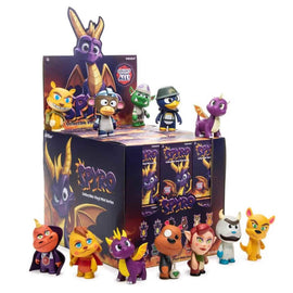 "Spyro the Dragon Mini 3"" Vinyl Series by Kidrobot Full Display Case 24pcs"