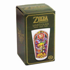 The Legend of Zelda: Link Wind Waker Collector's Edition Pint Glass - Official Nintendo - IamRetro.com