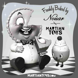 "Mr. Self Indulgence Old Timey 9"" Medium Figure by Nouar x Martian Toys"