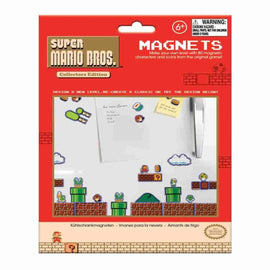 Nintendo NES Super Mario Bros. 8-bit Set of 80 Magnets - IamRetro.com