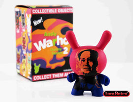 "Mao 3"" Mini Figure - Andy Warhol Dunny Series 2 by Kidrobot"