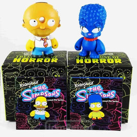Homer & Marge Mini's + Enamel Pins Bundle Pack - Simpsons x Kidrobot - iamRetro.com