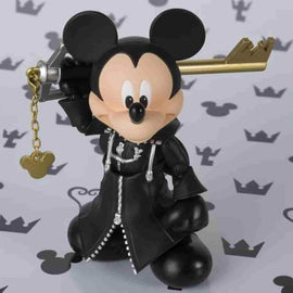 King Mickey Kingdom Hearts II Action Figure by Bandai - Tamashii Nations S.H. Figuarts - iamRetro.com