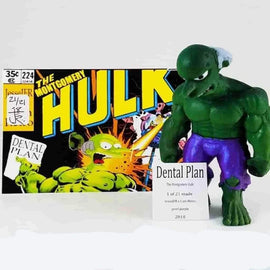 The Montgomery Hulk 3.5 Resin Bootleg Figure By Jessejfr X Iamretro