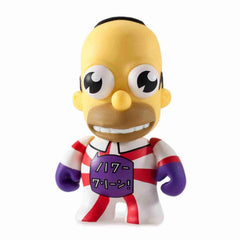 Mr Sparkle Red/White Simpsons 25th Anniversary Vinyl Mini Series by Kidrobot - IamRetro.com