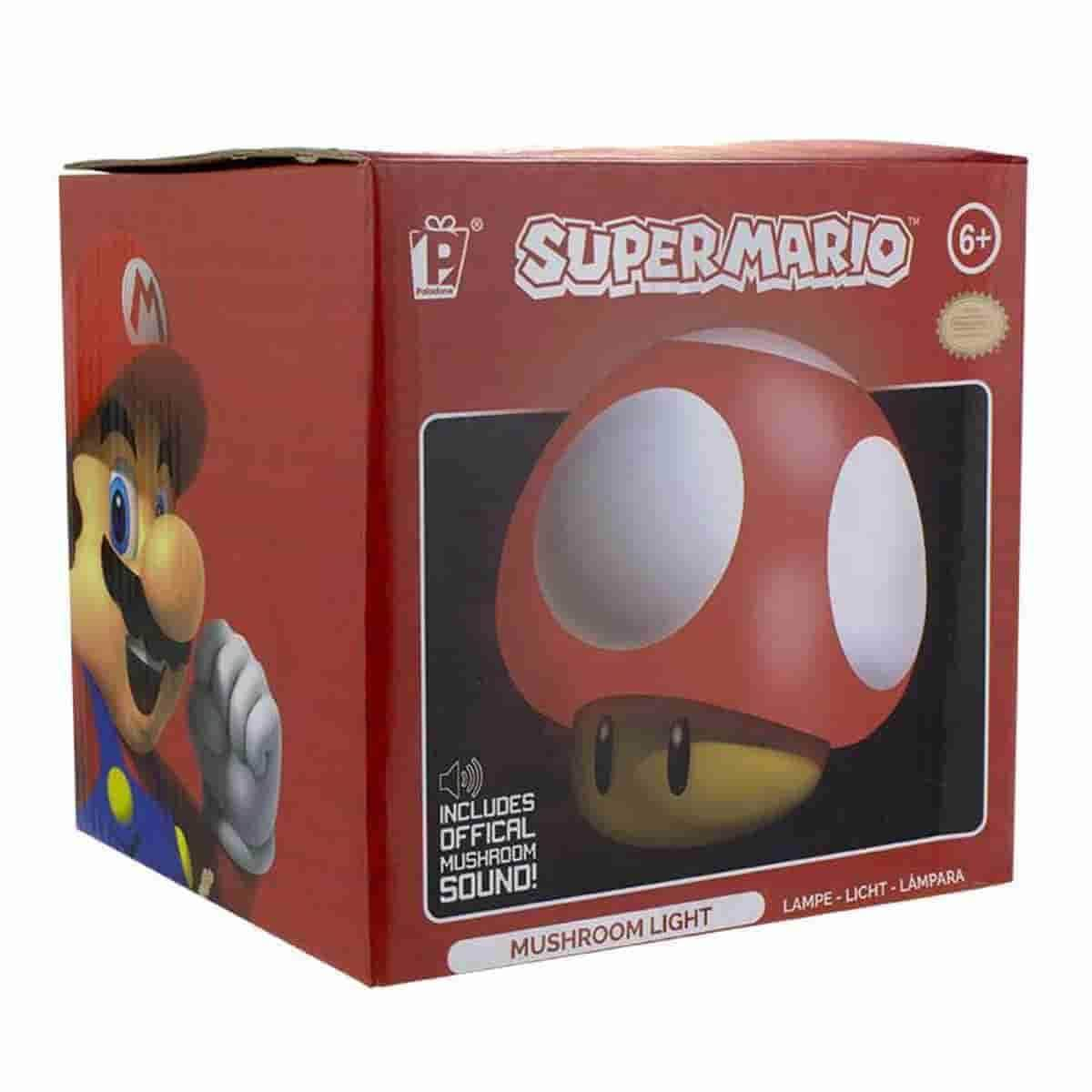 Super Mario : Mushroom Desk Light - Officially Licensed Nintendo Merchandise - IamRetro.com