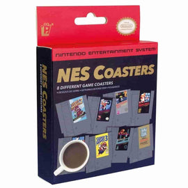 Nintendo NES Game Cartridge Coasters - IamRetro.com