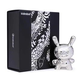 New Money Metal 5 inch Dunny by Tristan Eaton x Kidrobot