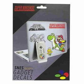 SNES Decals Stickers - Nintendo