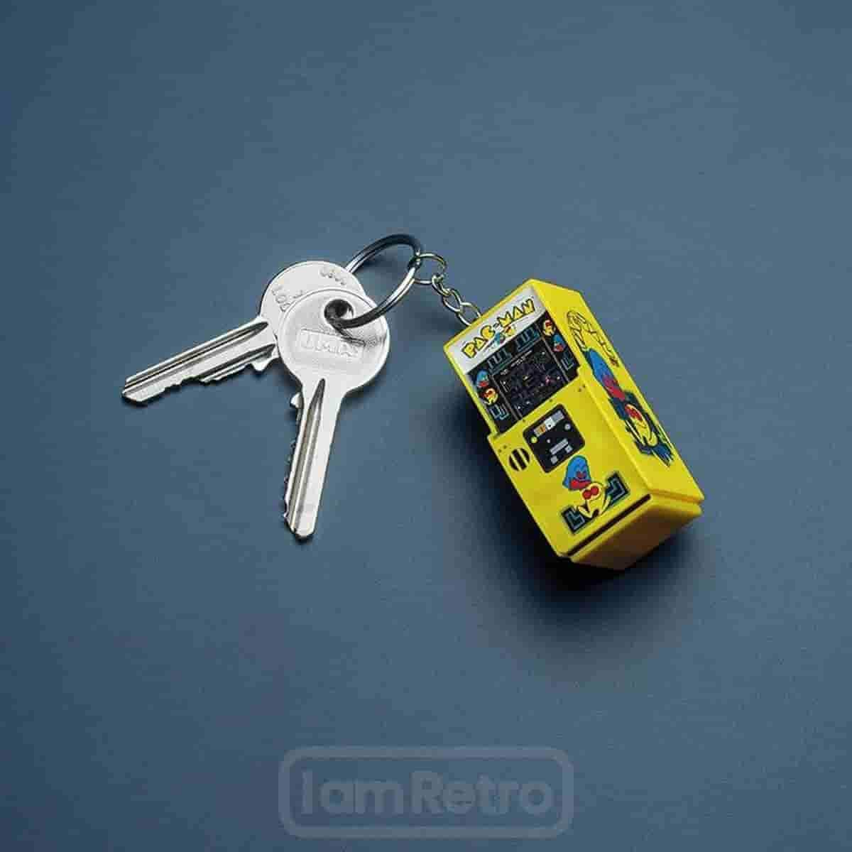 Pac Man : Arcade Keyring - Officially Licensed Merchandise - IamRetro.com