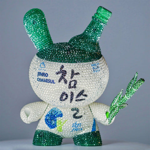 Crystal Jinro Dunny by Sket-One x IamRetro with Swarovski® Crystals