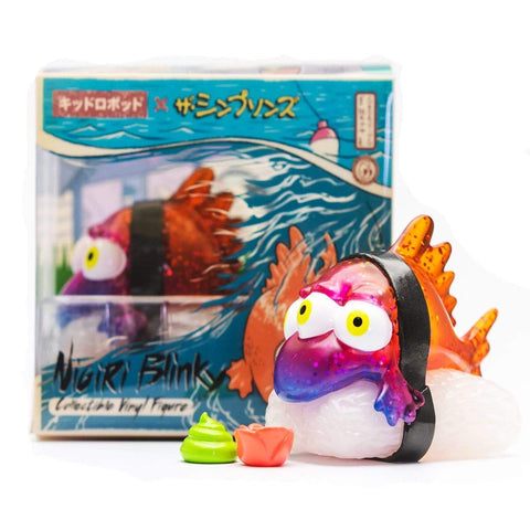 Kaiju Nigiri Blinky Mini Figure Simpsons x Kidrobot IamRetro Exclusive