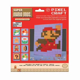 Super Mario Bros. Nintndo NES Pixel Craft 8-bit Art Magnet Set 8 Designs - IamRetro.com
