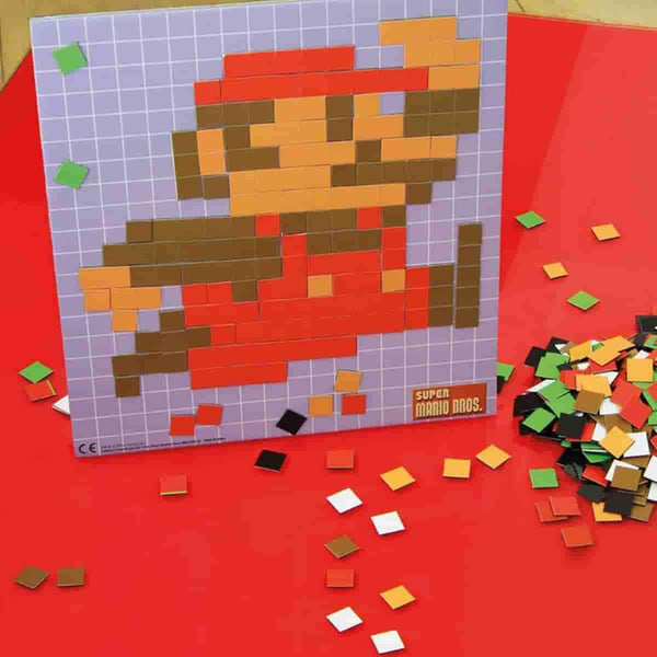 Super Mario Bros Nintndo Nes Pixel Craft 8 Bit Art Magnet Set 8 Desig