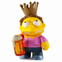 Plow King Barney Simpsons 25th Anniversary Vinyl Mini Series by Kidrobot - IamRetro.com