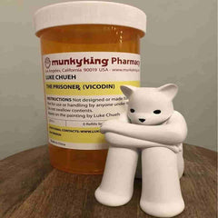 The Prisoner (XL) - Vicodin by Luke Chueh x Monkey King - IamRetro.com