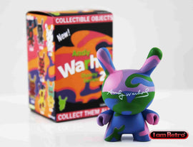 "Camo 3"" Mini Figure - Andy Warhol Dunny Series 2 by Kidrobot - IamRetro"