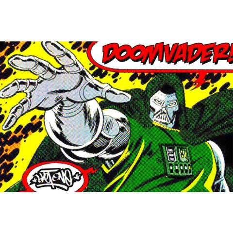 Doom Vader 11x17 Art Print by Sket-One IamRetro Exclusive