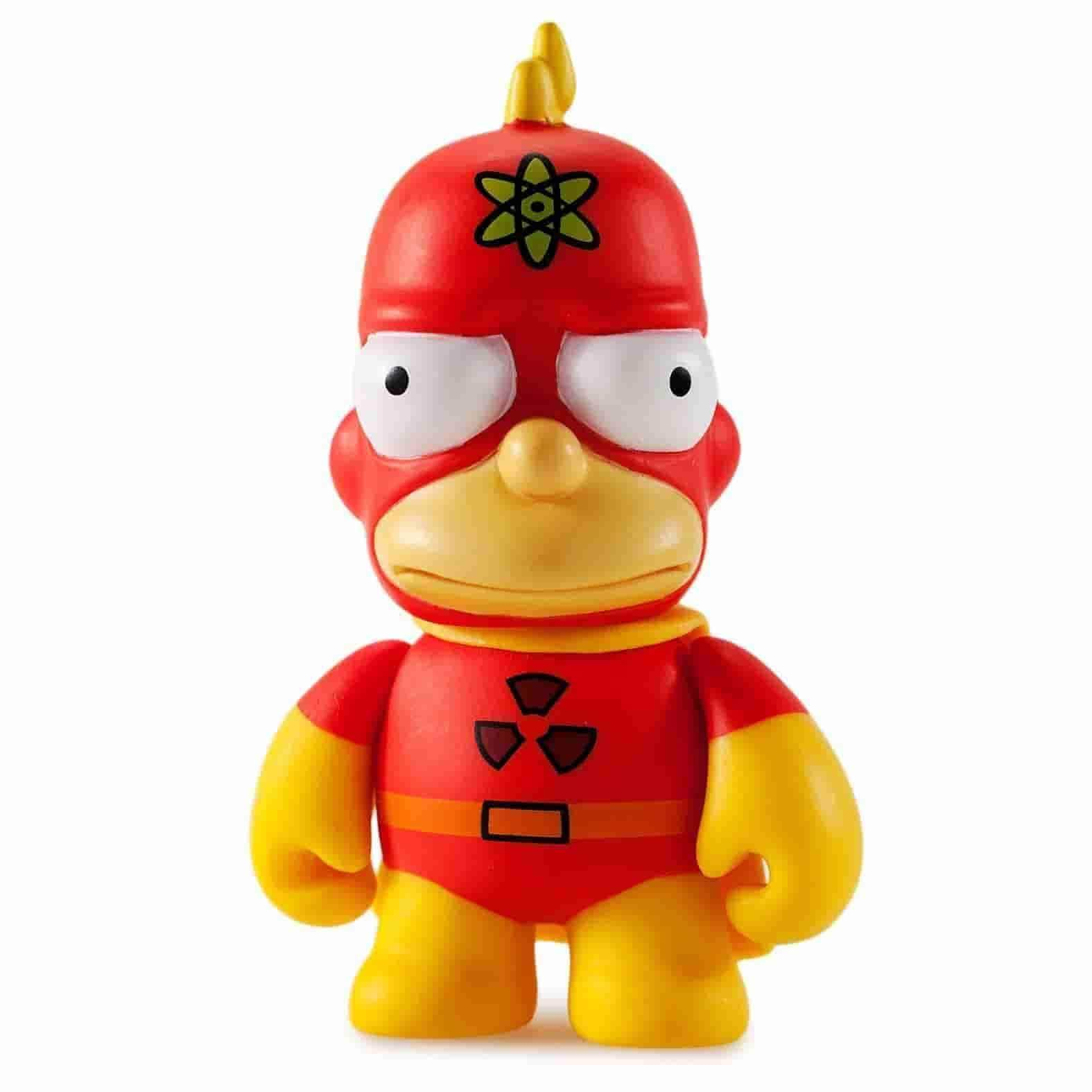 Radioactive Man Simpsons 25th Anniversary Vinyl Mini Series by Kidrobot - IamRetro.com