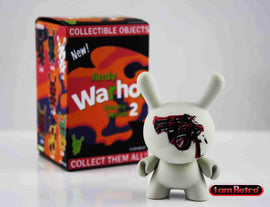 "Revolver 3"" Mini Figure - Andy Warhol Dunny Series 2 by Kidrobot"
